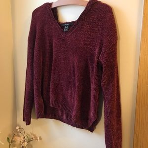 3/$30 Forever 21 Cropped Hooded Sweater
